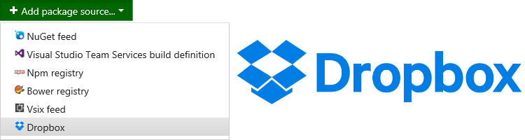 Synchronizing NuGet packages with Dropbox